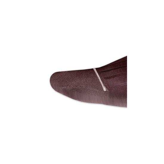 Angelucci Calze a Coste Bordeaux | gallo accessori|calze uomo ...