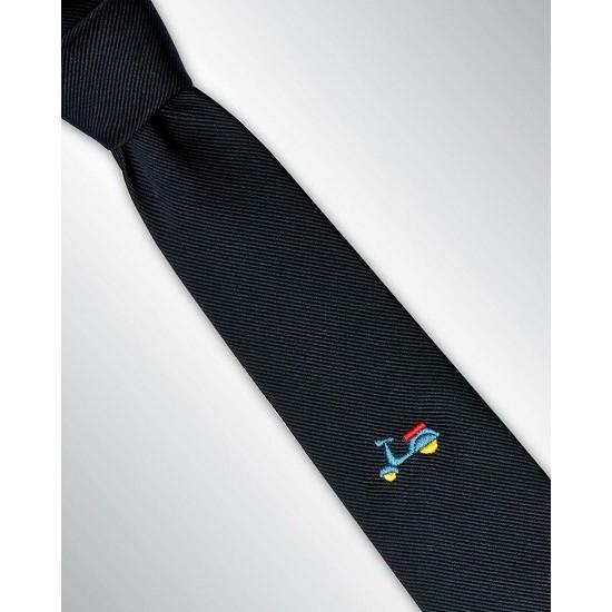 prezzo speciale per prezzo migliore rivenditore di vendita Angelucci Cravatta con Vespa   cravatte su misura   cravatte ...