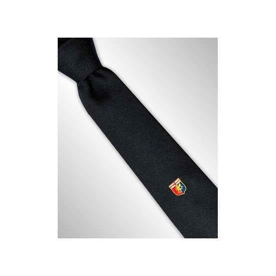 grande selezione vendita limitata sconto in vendita Angelucci Cravatta con Stemma del Genoa | cravatte marinella ...